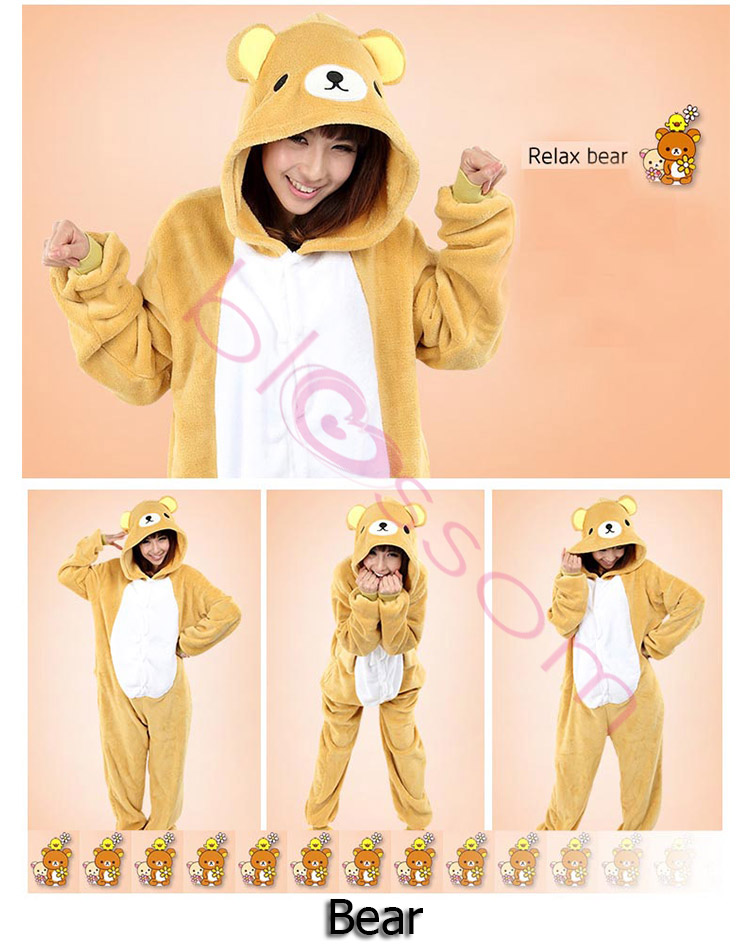 Animal-Onesies-Kids-Adult-Unisex-Kigurumi-Cosplay-Costume-Pyjamas-Pajamas-AU