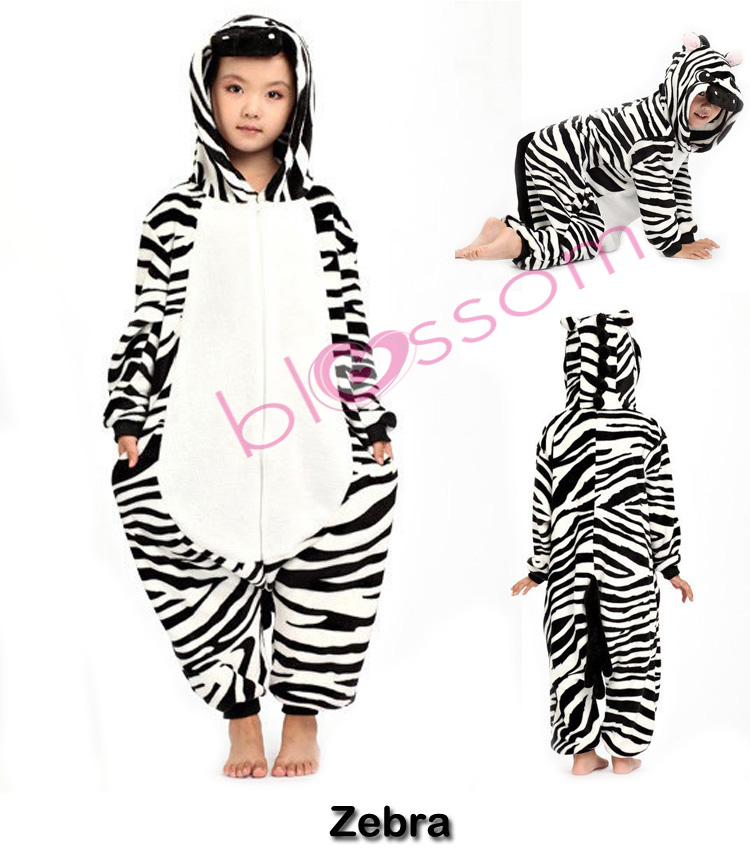 Animal Onesies Kids Boys Girls Children Kigurumi Cosplay Costume ...