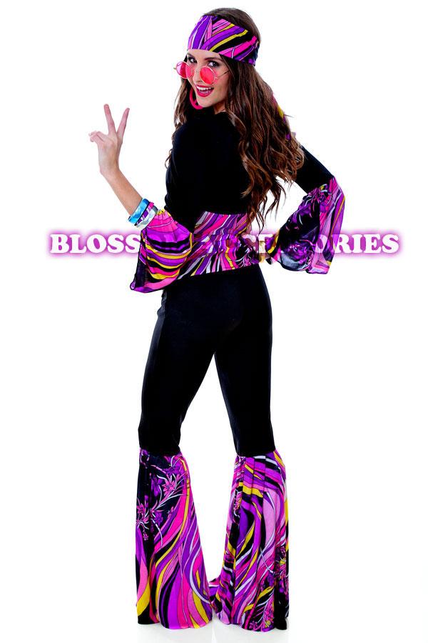 Pics photos 60 s 70 s gogo disco flower power dress