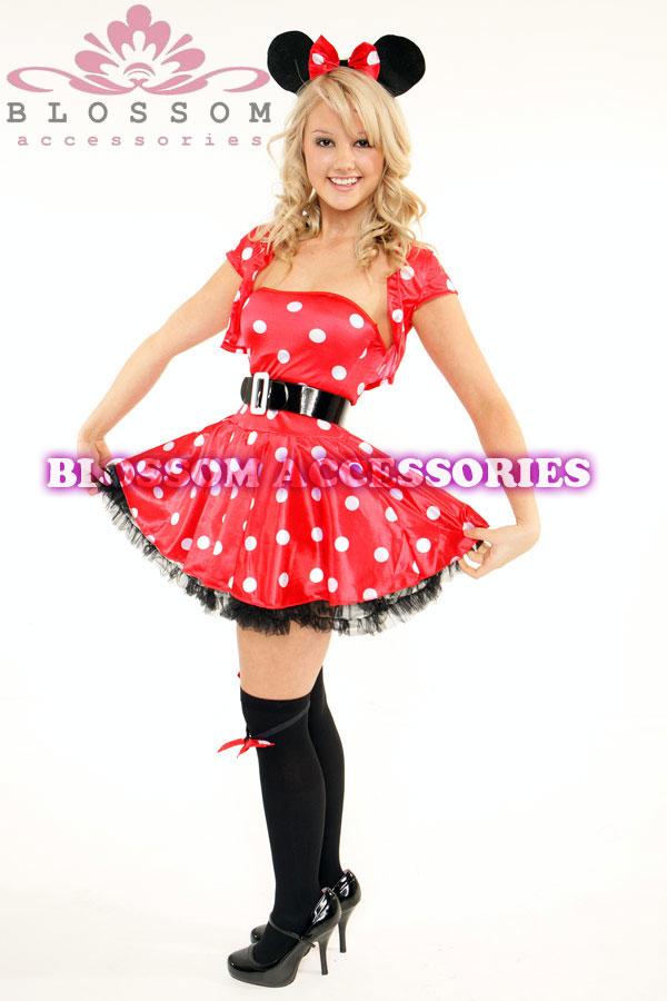 893 Ladies Minnie Mickey Mouse Fancy Dress Up Costume | eBay