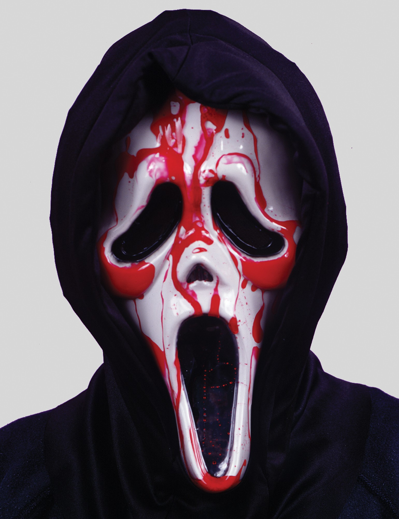 A922 Dripping Bleeding Scream Ghost Face Zombie Mask Halloween ...
