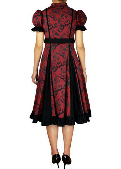 rk77 rockabilly evening retro bridesmaid dress pin up