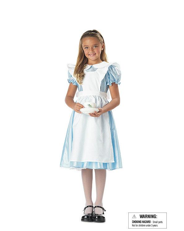 CK22 Alice In Wonderland Child Fancy Dress Up Party Girls Halloween Costume | EBay