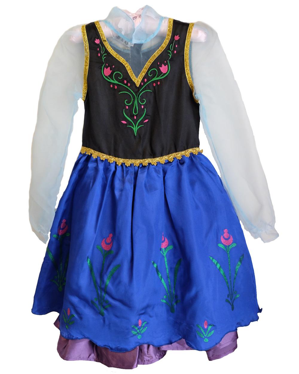 CFR Frozen Princess Anna Elsa Queen Dress Child Toddler Girls Book ...