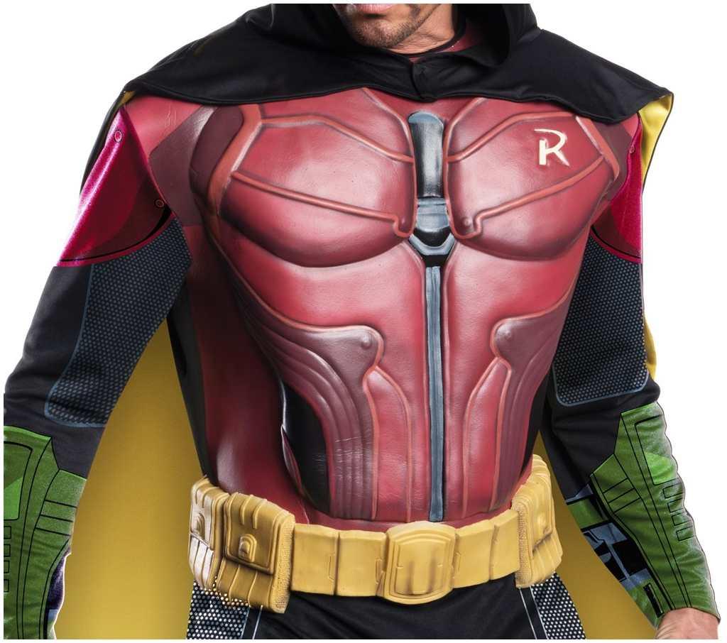 CL250 Mens Robin Muscle Chest Batman Arkham City Villain ...
