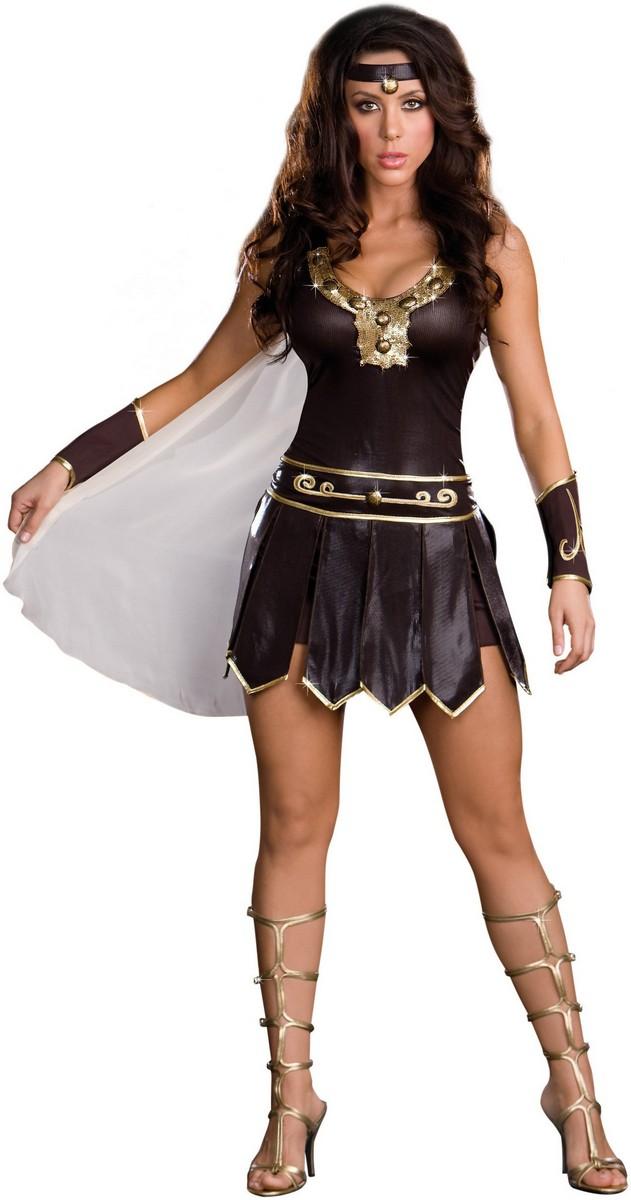 C398 Ladies Xena Gladiator Warrior Princess Roman Spartan ...