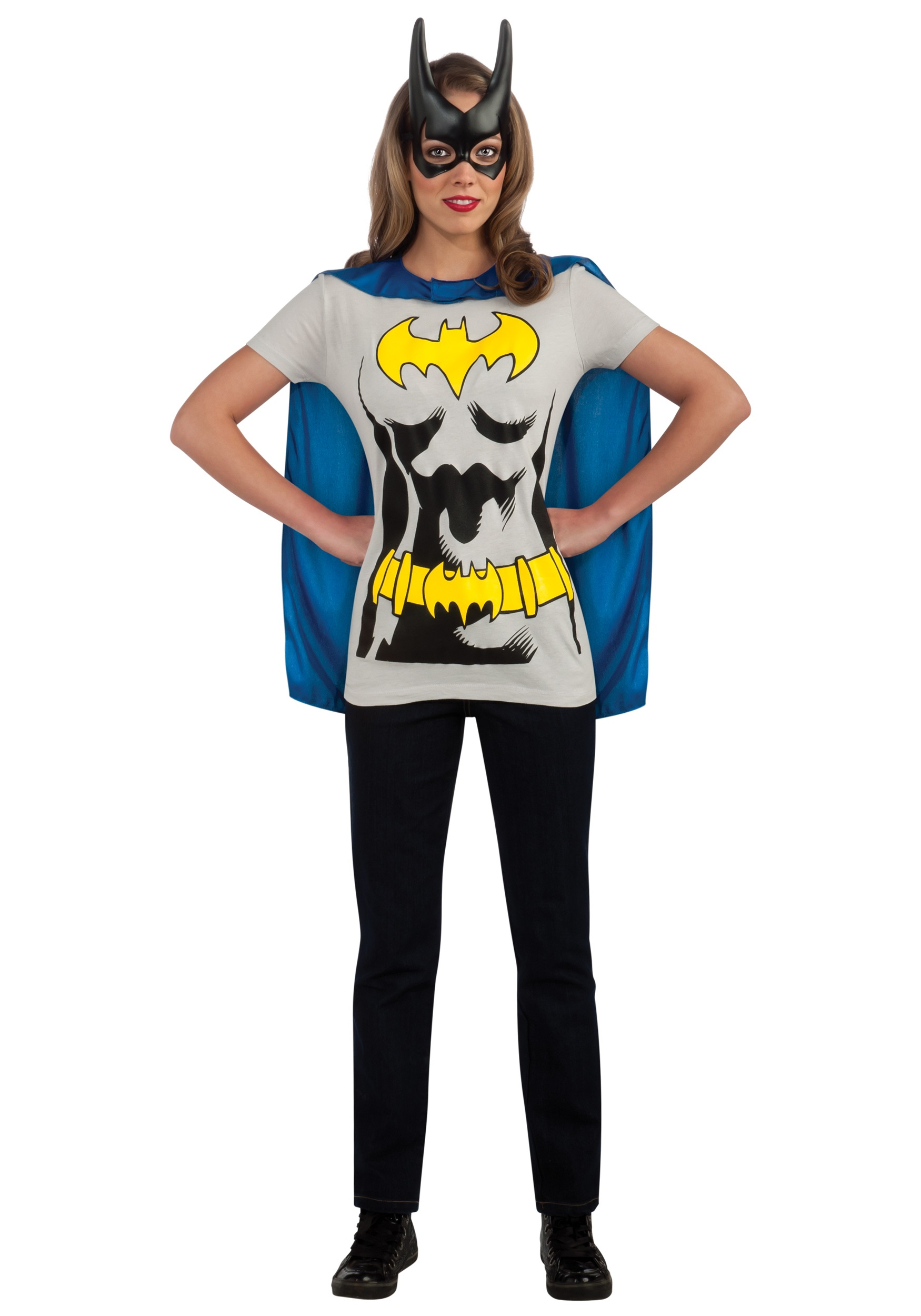 C956 Superhero T Shirt Women Costume Wonder Woman Robin