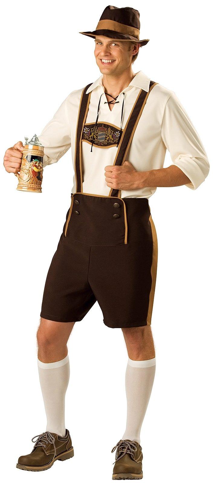 C213 Mens Bavarian Guy German Lederhosen Beer Oktoberfest ...