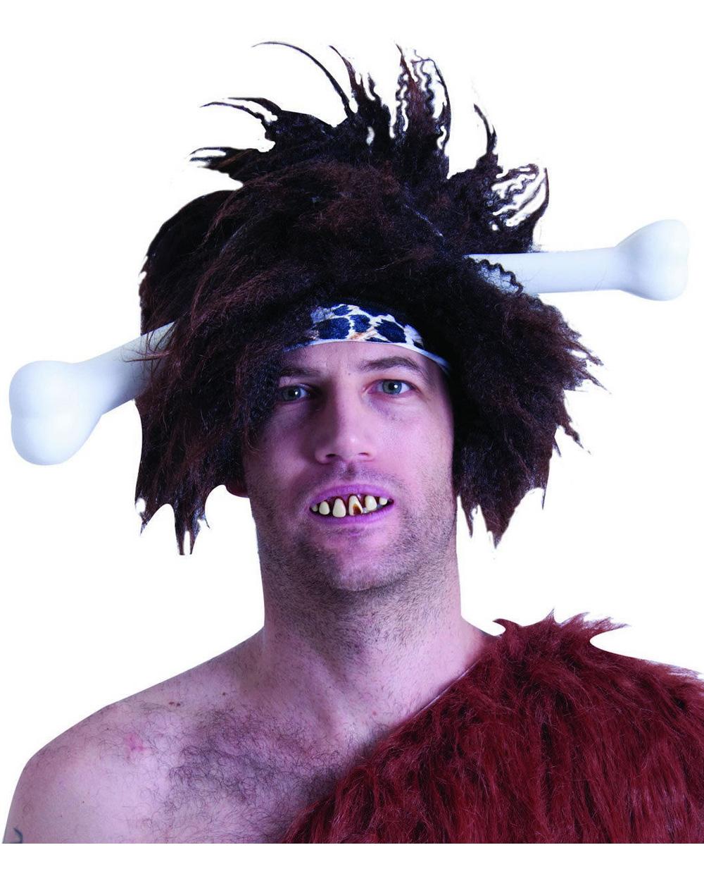 Caveman Costume Accessories : As bone through the head headband caveman jungle cave