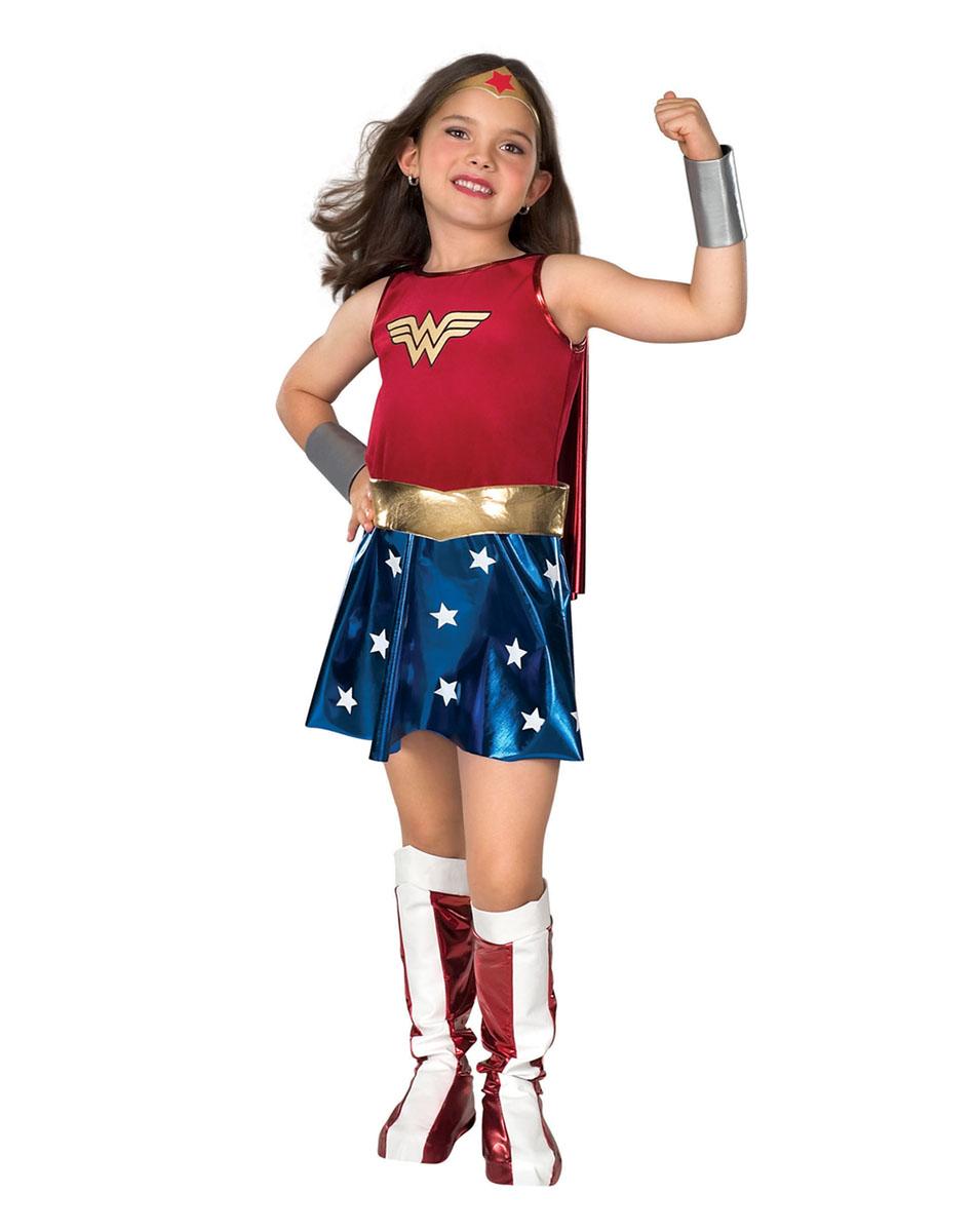 CK169 Wonder Woman Deluxe Super Hero Fancy Dress Girl Book Week Child Costume | EBay