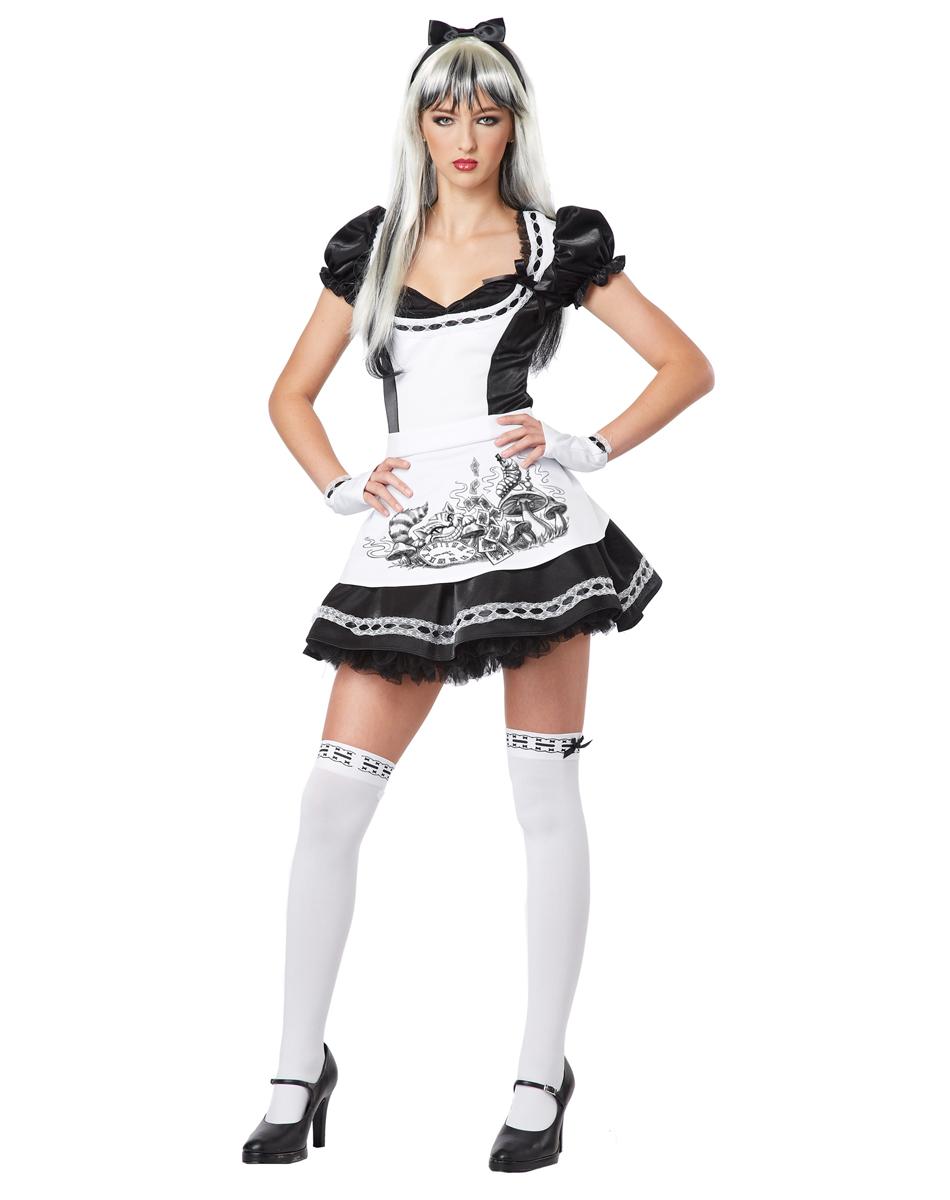 White apron alice wonderland costume - Item Specifics