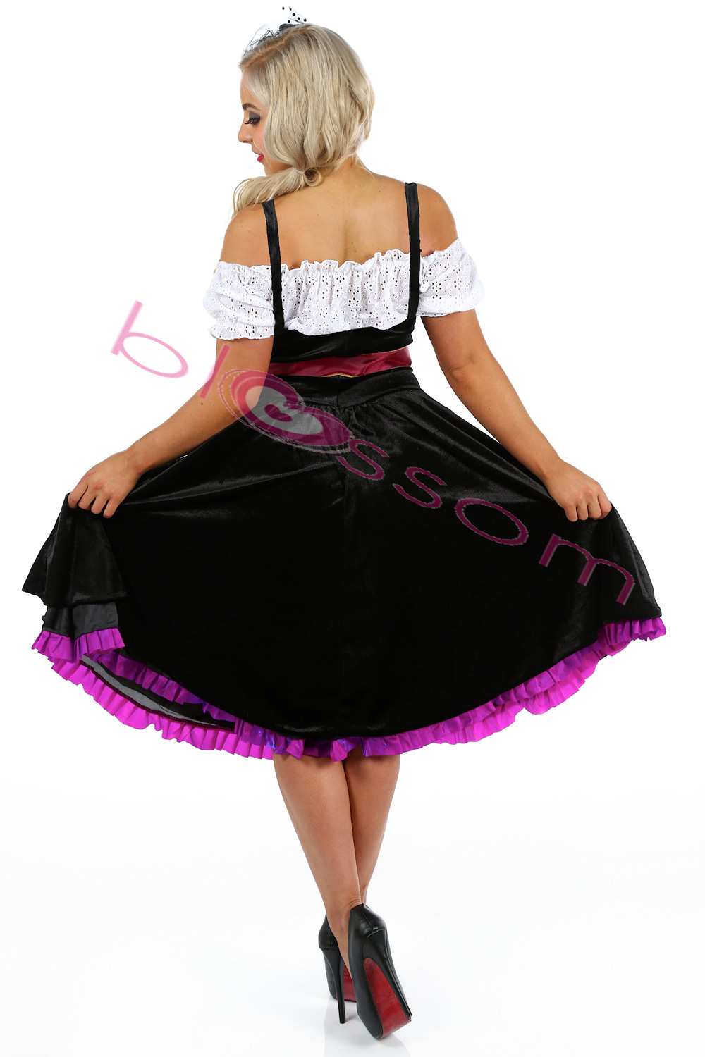 k86 deluxe oktoberfest beer maid dress up heidi costume. Black Bedroom Furniture Sets. Home Design Ideas