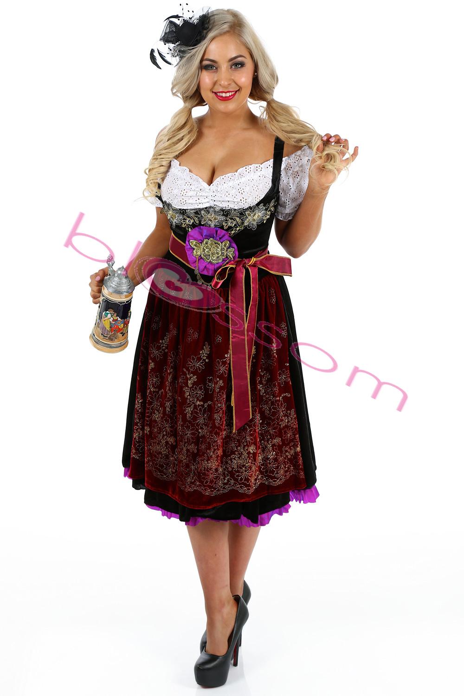 k86 deluxe oktoberfest beer maid dress up heidi costume. Black Bedroom Furniture Sets. Home Design Ideas