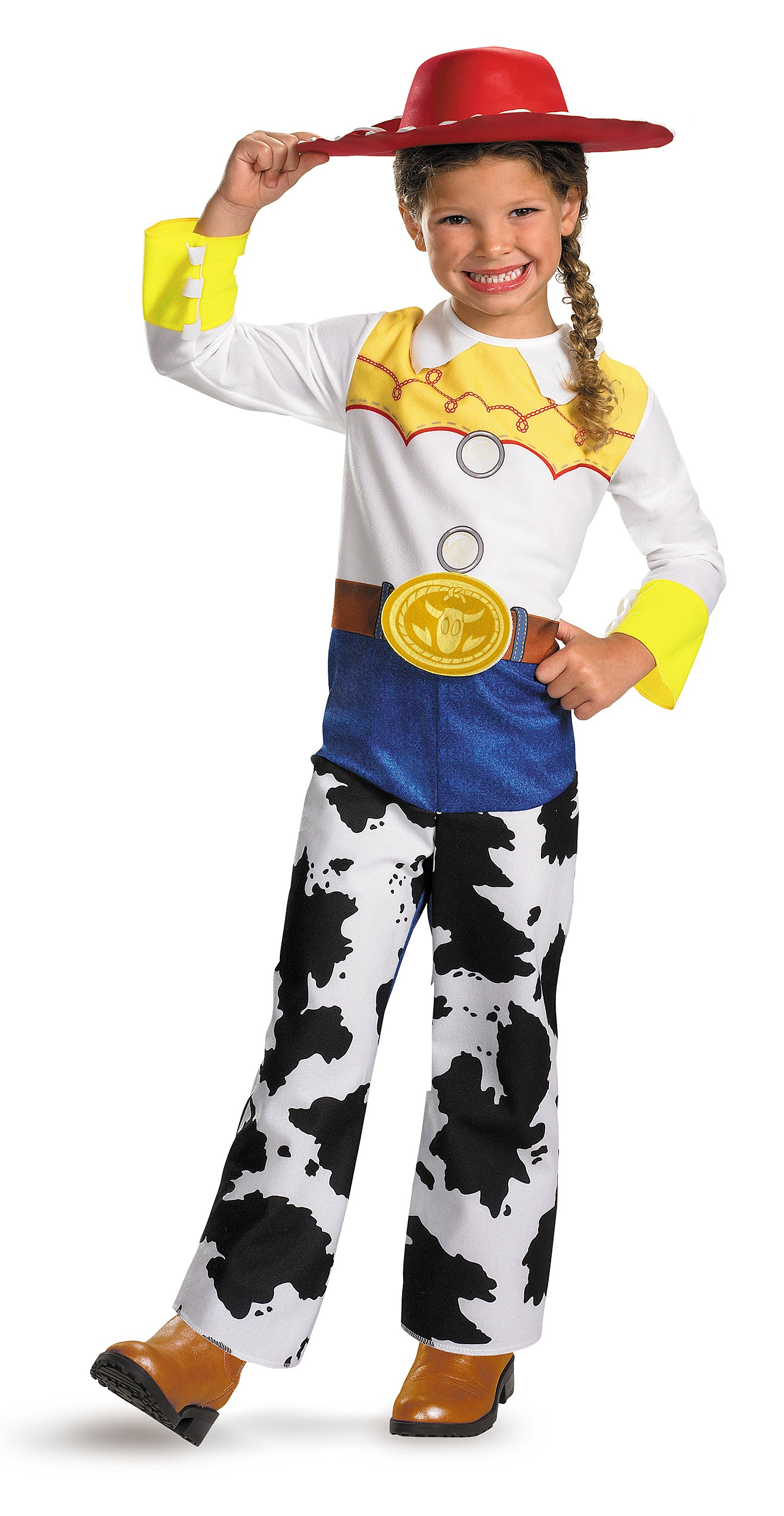 CK183 Disney Toy Story Classic Jessie Fancy Dress Child Girl Book Week Costume