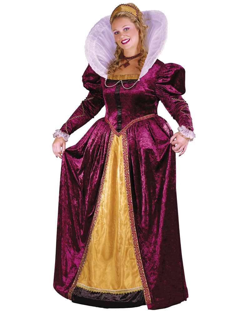 cl148fw plus queen elizabeth medieval lady fancy dress
