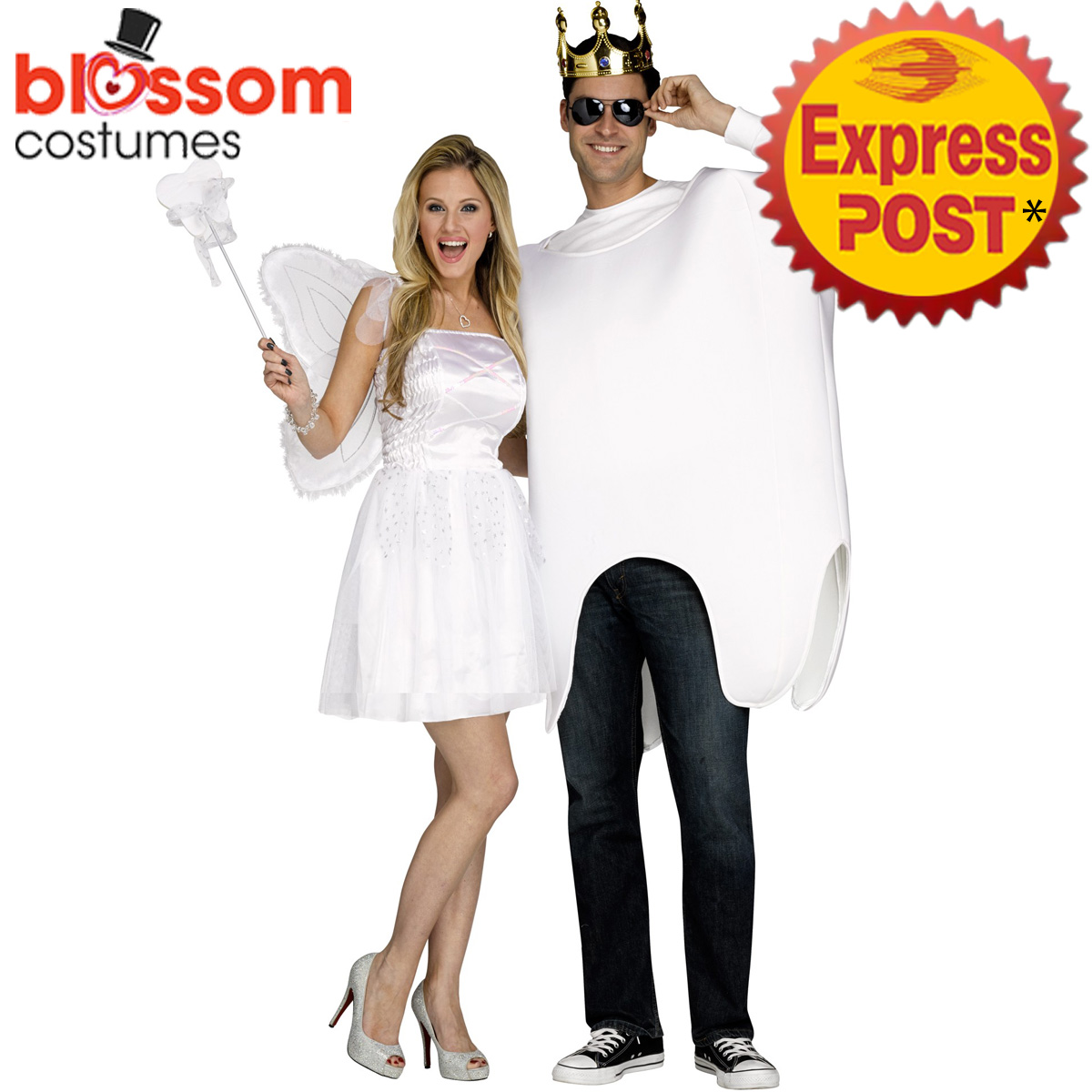CA337-Tooth-Fairy-Couples-Ladies-and-Mens-Funny-Fancy-Dress-Up-Costumes-Outfit