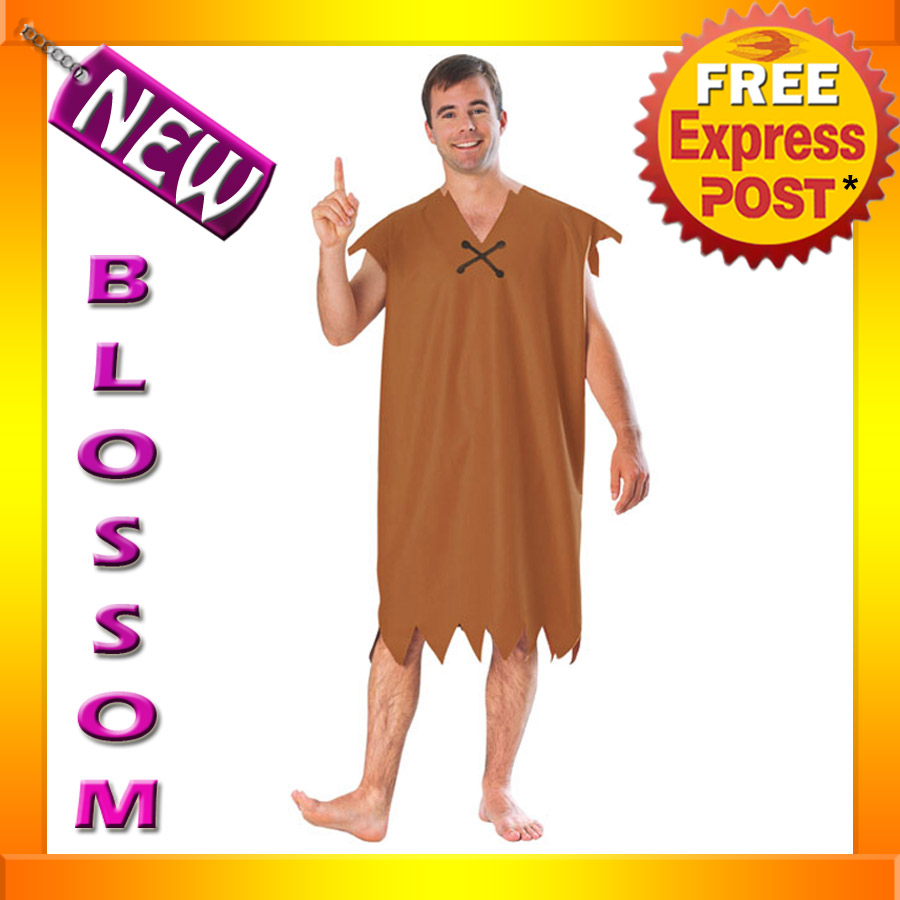 how to make a barney rubble costume