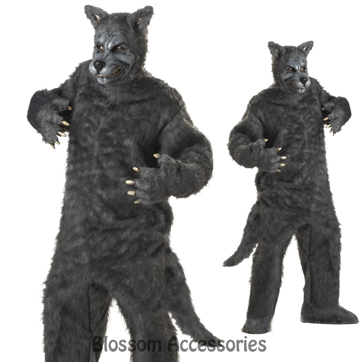 image is loading c127 mens big bad wolf werewolf fox scary
