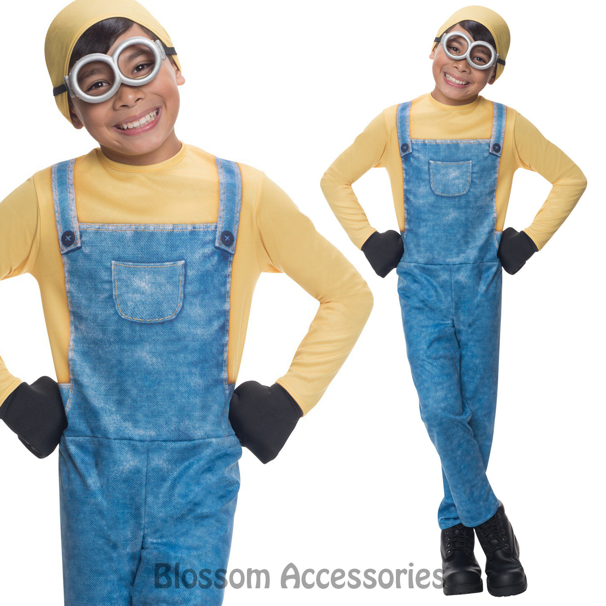 Image is loading CK665-Despicable-Me-Boys-Minion-Bob-Party-Fancy-  sc 1 st  eBay & CK665 Despicable Me Boys Minion Bob Party Fancy Dress Up Costume ...
