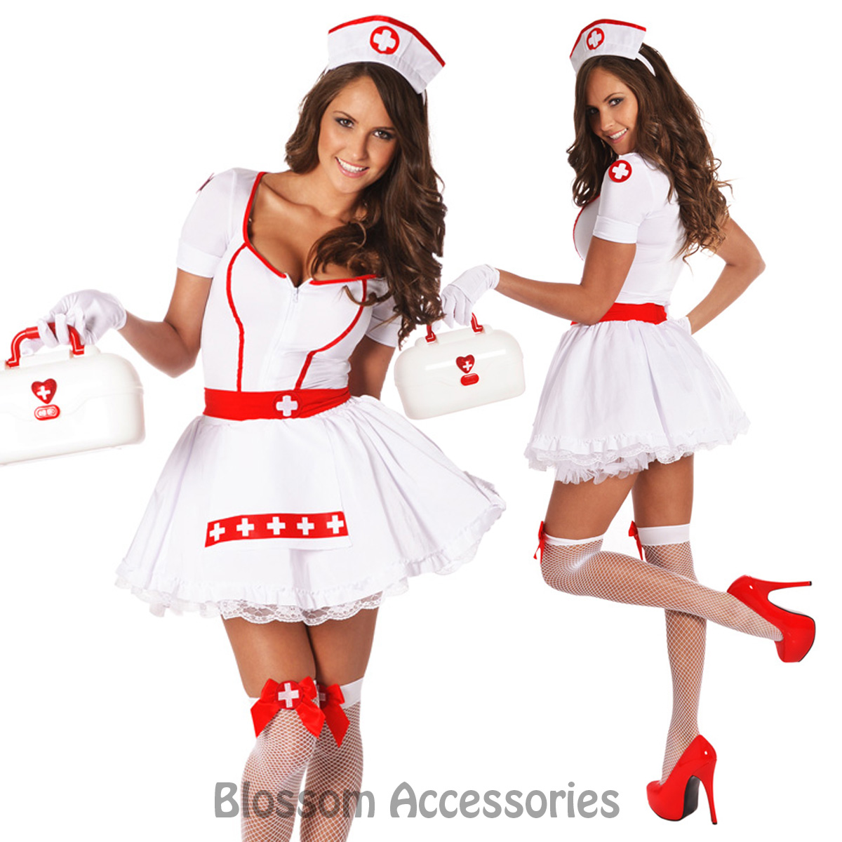 Nurse Costume Party City image information