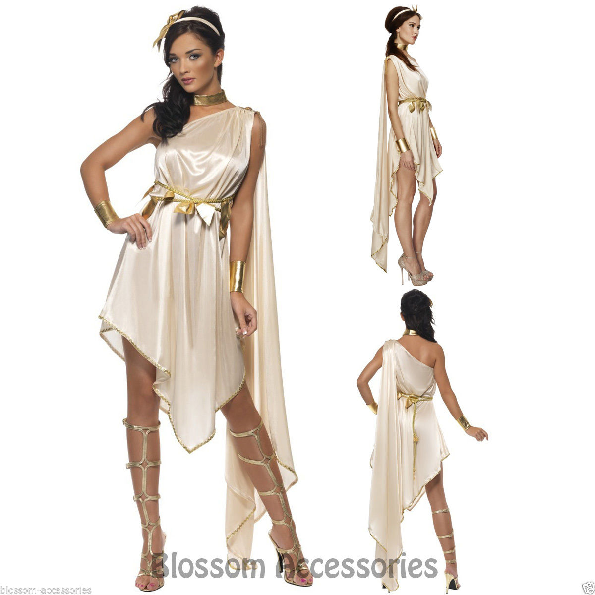 CL455-Fever-Goddess-Greek-Roman-Toga-Womens-Cleopatra-Fancy-Dress-Party-Costume
