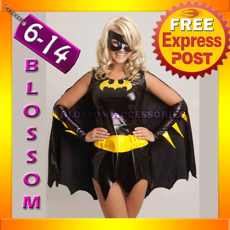 B57-Batgirl-Super-Hero-Woman-Fancy-Dress-Costume-Superhero-Outfit-Cape-Bat-Mask