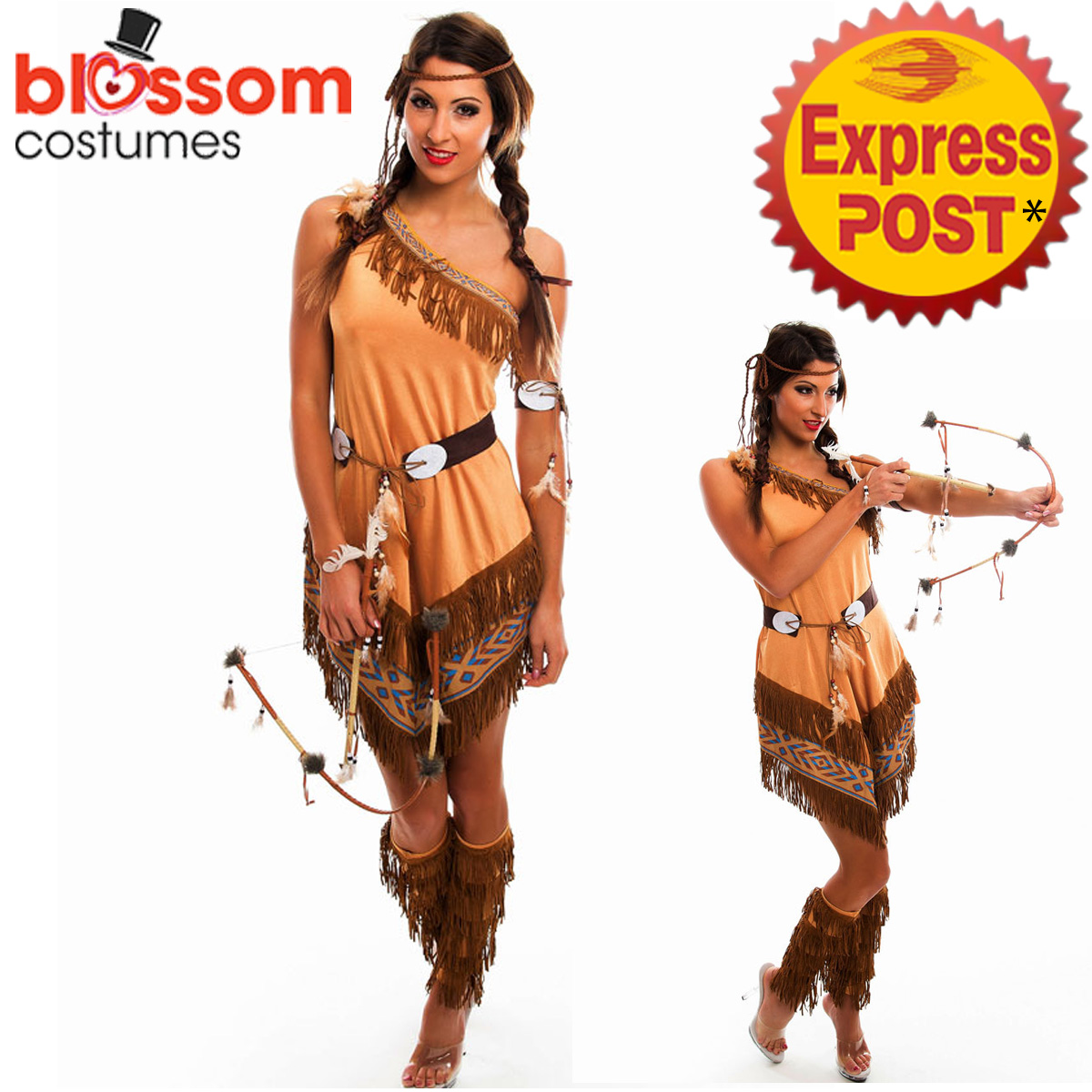 F91-Ladies-Pocahontas-Native-American-Indian-Wild-West-Fancy-Dress-Party-Costume