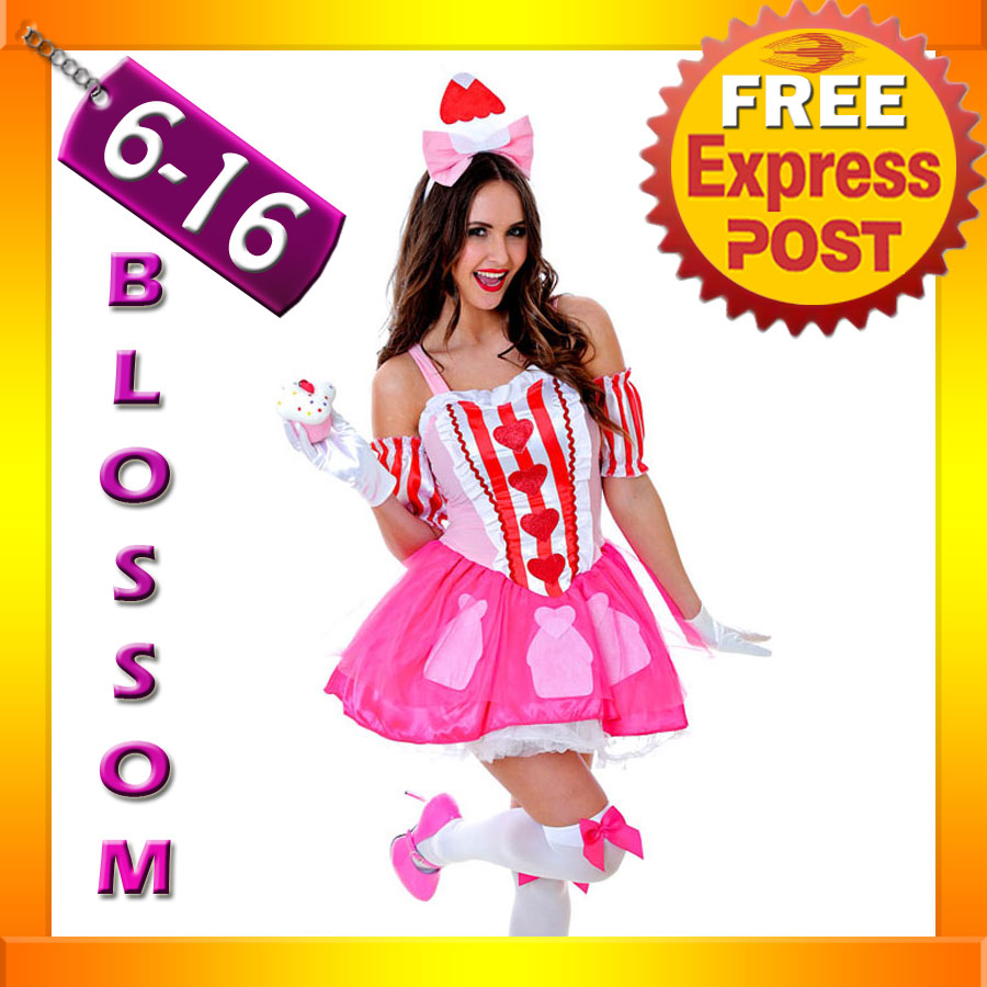 J89-Katy-Perry-Sweet-Cupcake-Cup-Cake-Candy-Spice-Birthday-Fancy-Dress-Costume