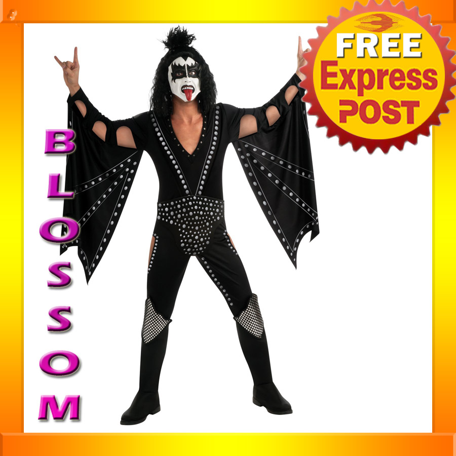 C333-Kiss-Demon-DELUXE-Gene-Simmons-Mens-80s-Halloween-Fancy-Adult-Costume