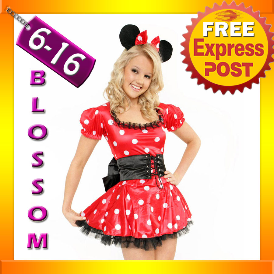 887-Ladies-Minnie-Mickey-Mouse-Fancy-Dress-Up-Costume