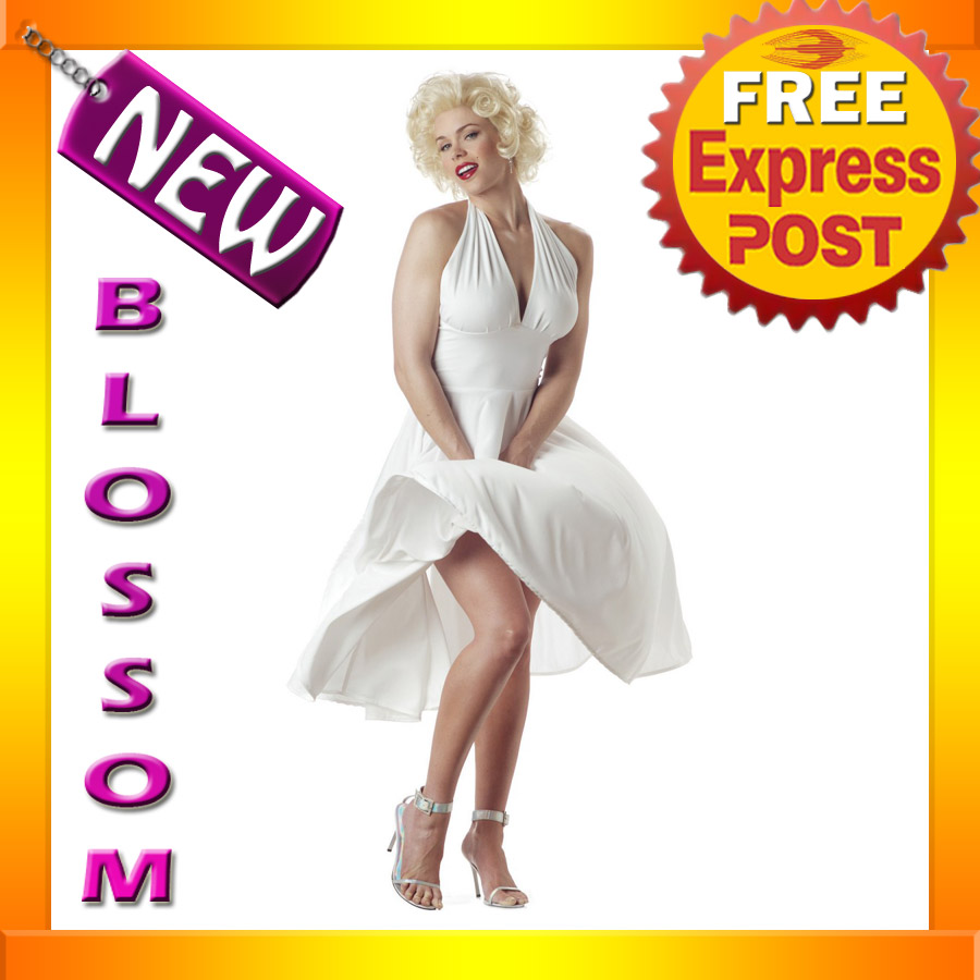 C11-Licensed-Marilyn-Monroe-Sexy-Dress-Costume-S-M-L-XL