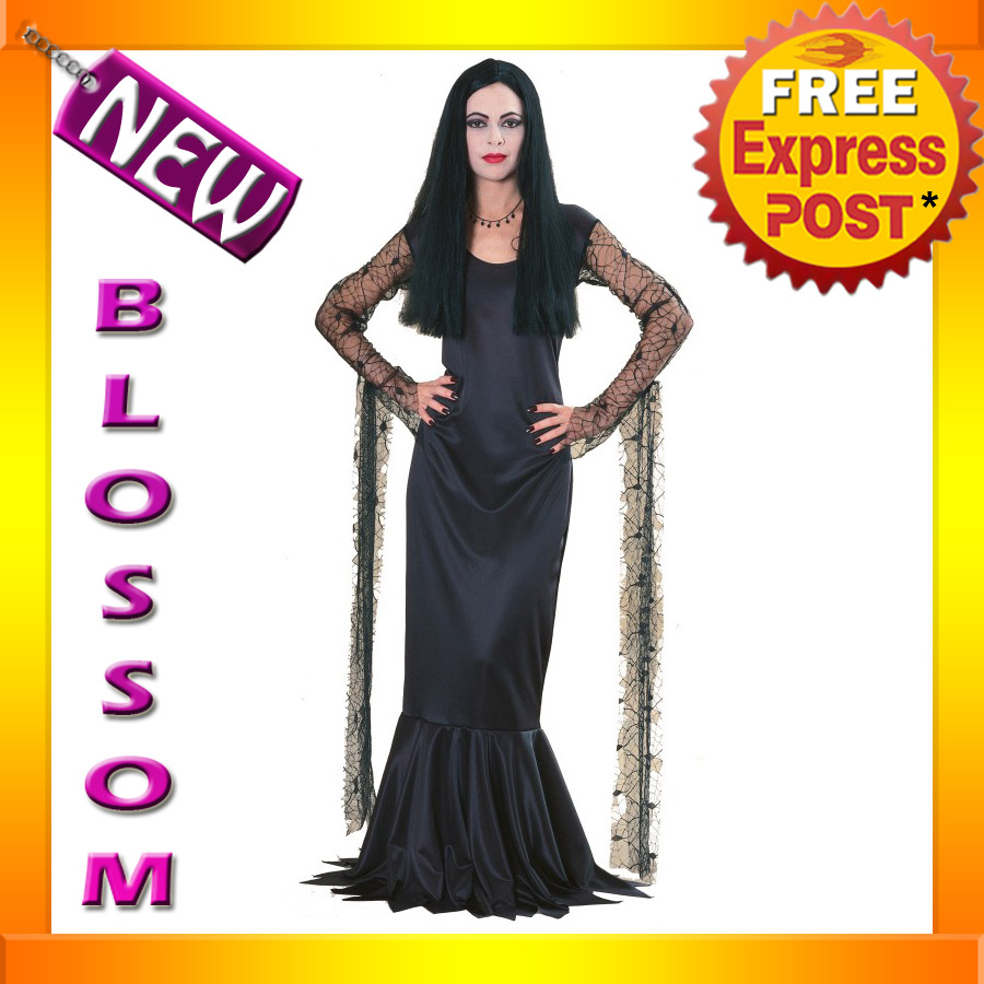 C775-The-Addams-Family-Morticia-Fancy-Dress-Halloween-Adult-Costume