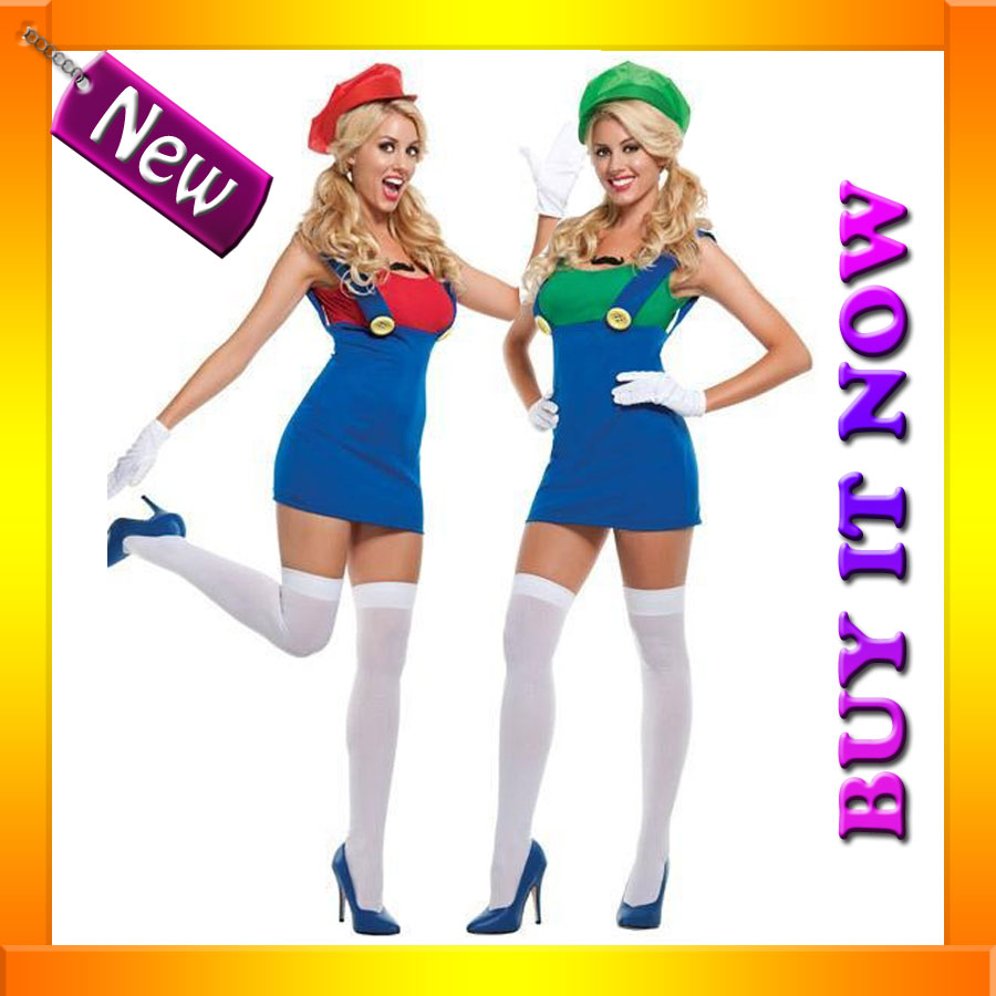 Mario And Luigi Costumes For Girls Party City  sc 1 st  Lekton.info & Mario And Luigi Costumes For Girls Party City - lekton.info