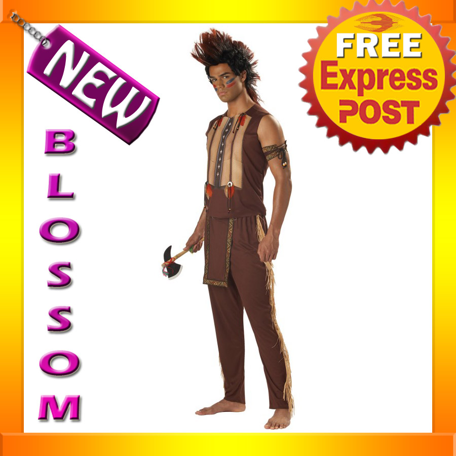 C104-Noble-Warrior-Native-American-Indian-Halloween-Fancy-Dress-Adult-Costume