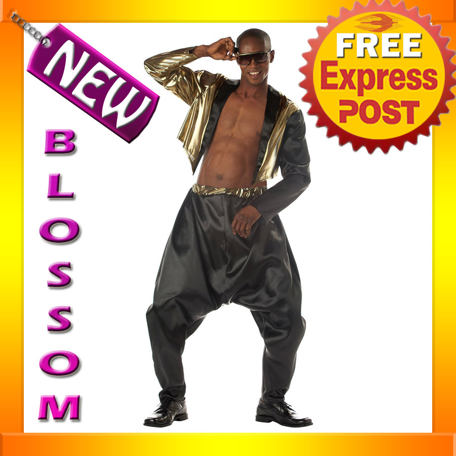 C270-Mens-1980s-MC-Hammer-Old-School-Rapper-Fancy-Dress-Costume
