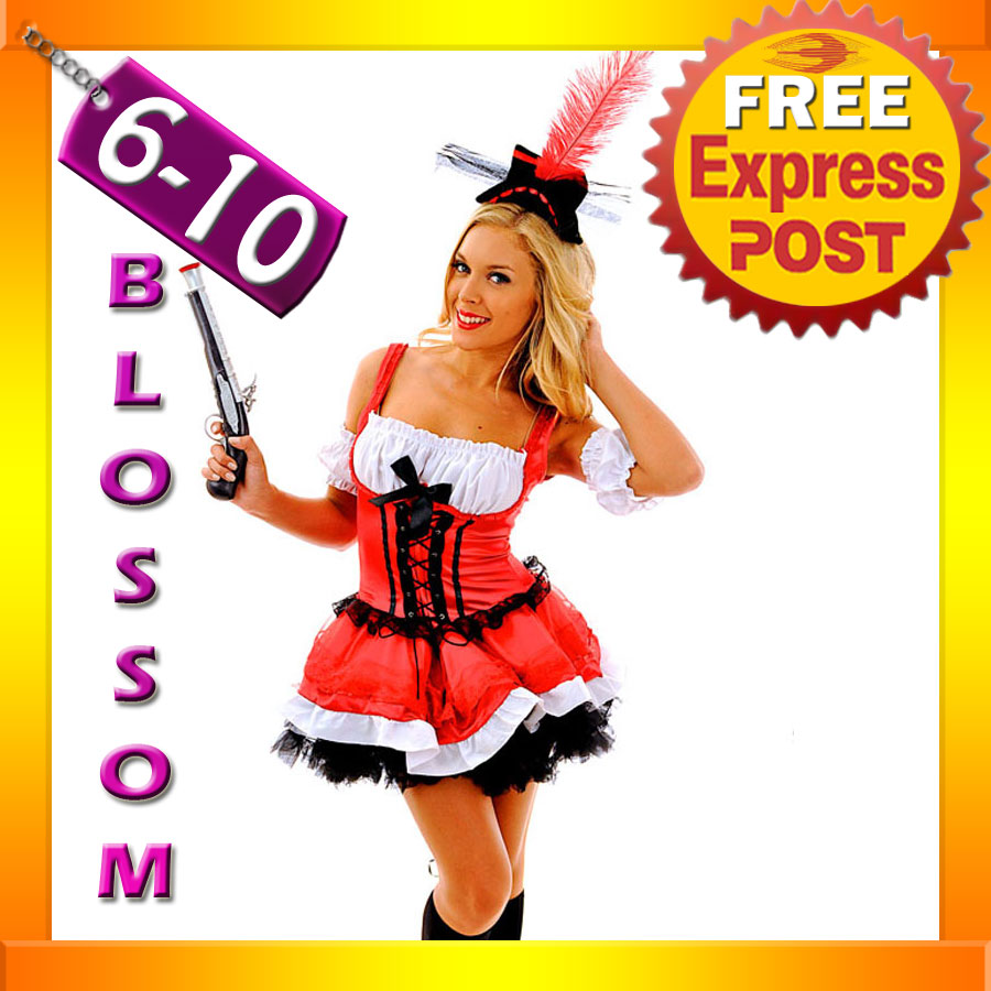 F63-Ladies-Swashbuckler-Pirate-Wench-Outfit-Fancy-Dress-Party-Costume-Hat