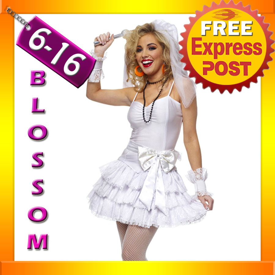 G64-Madonna-Virgin-Bride-80s-Clothing-Fancy-Dress-Hens-Party-Costume ...