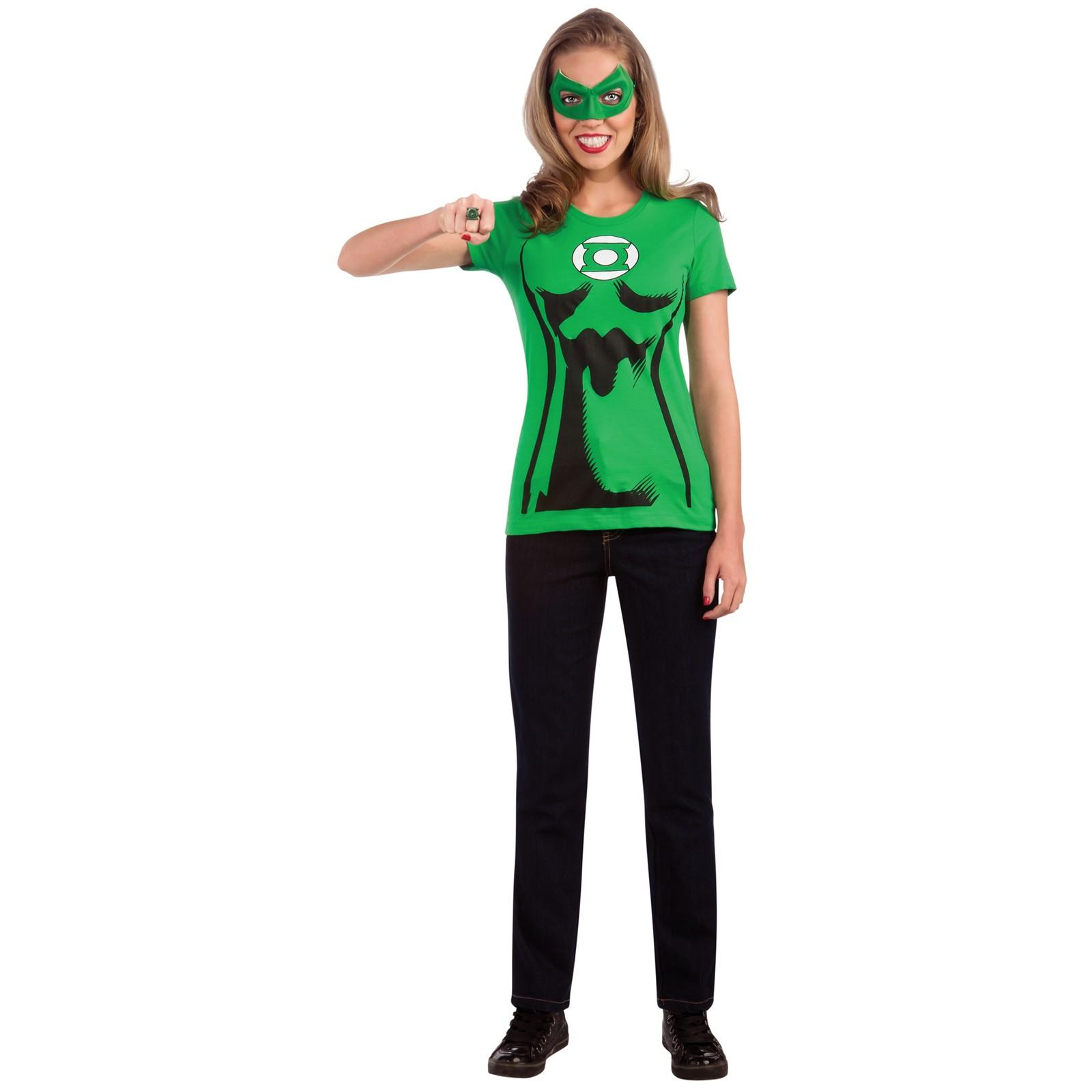 C956-Superhero-T-Shirt-Women-Costume-Wonder-Woman-Robin-Supergirl-Batgirl-amp-Cape