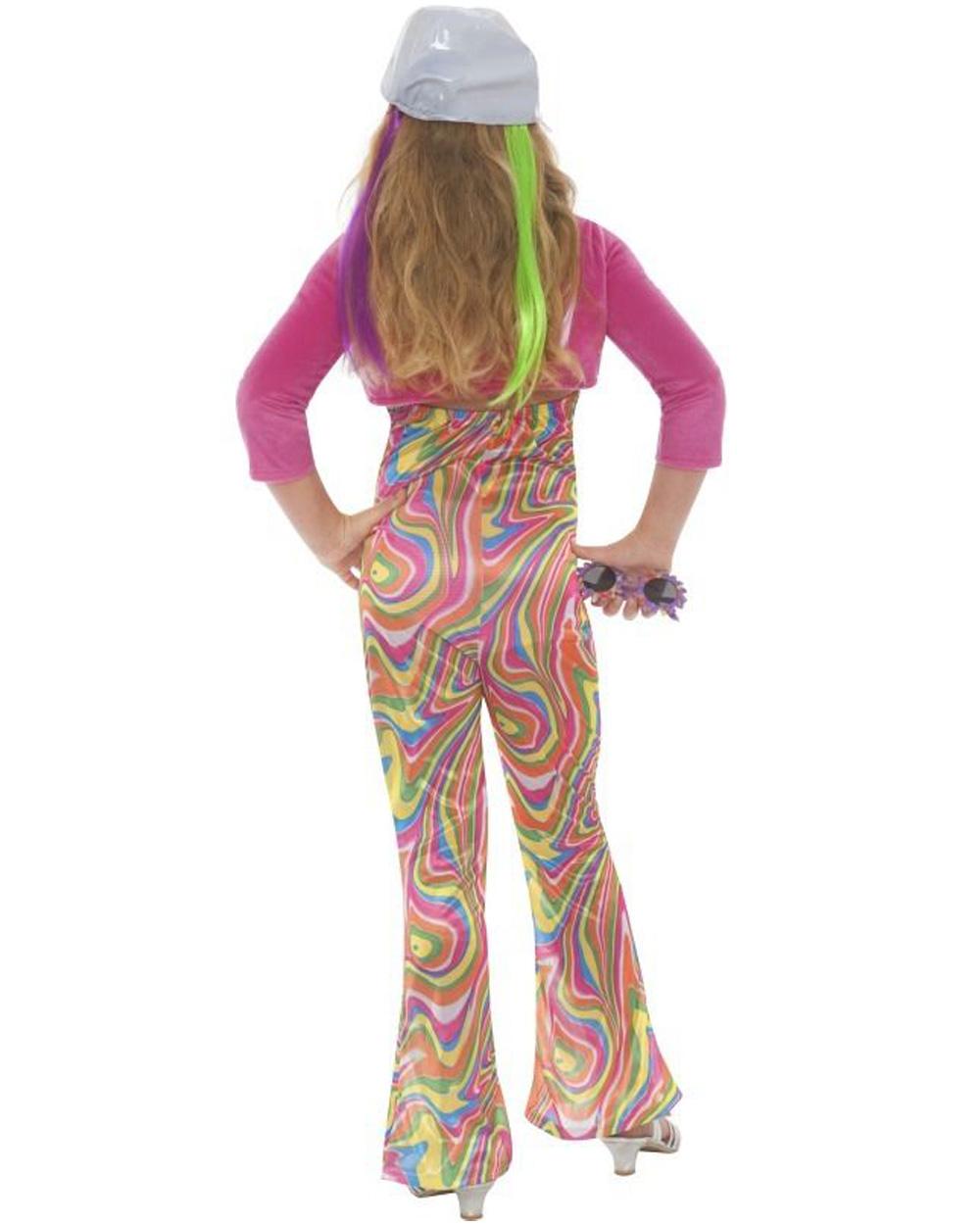 Original  70s 70s Hippie Ladies Costumes Fancy Dress Dress Up Forward Ladies