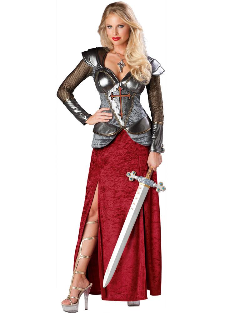 C740 Joan Of Arc Premier Halloween Fancy Dress Adult ...