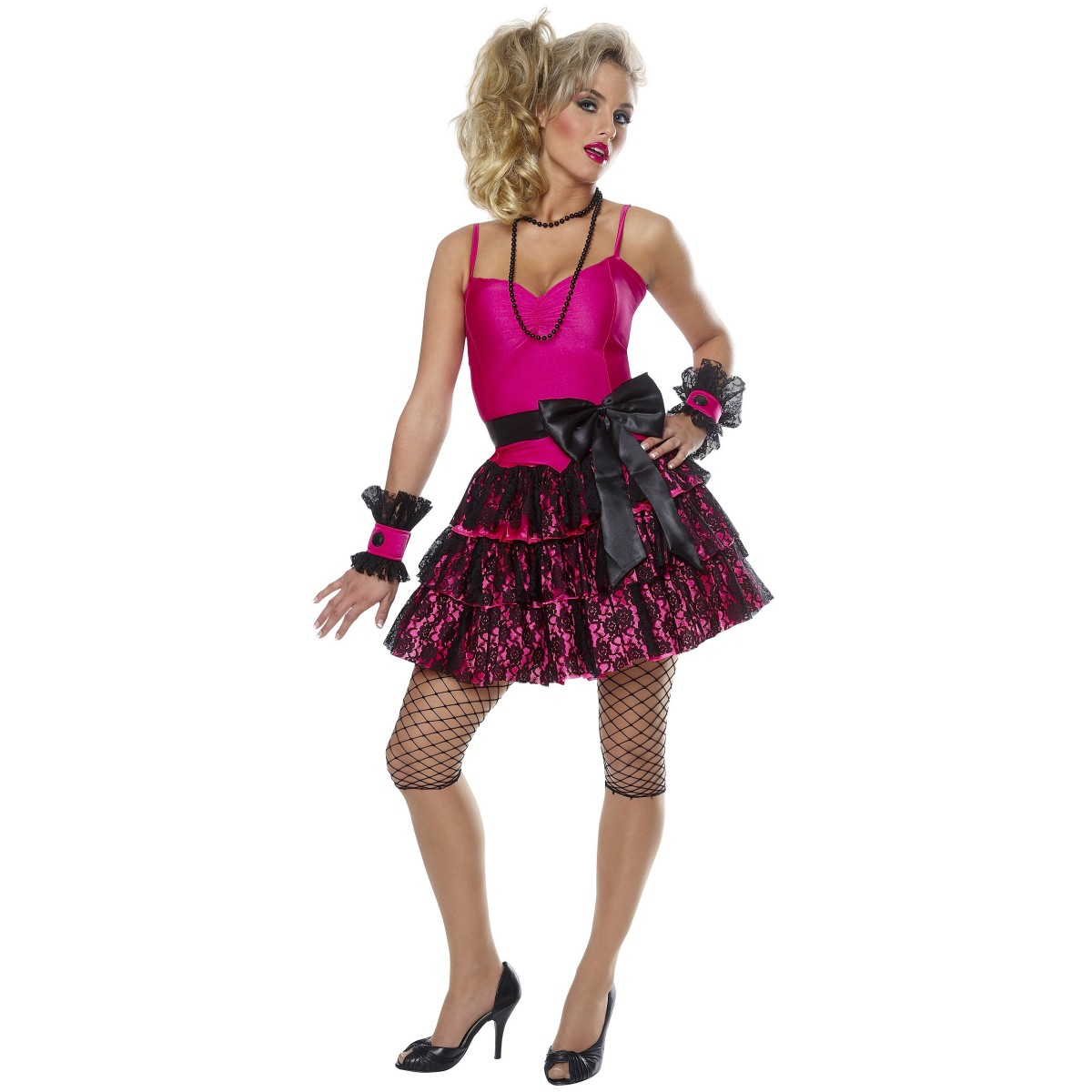 Dress Up: 888 80s Madonna POP Star Material Girl Dress UP Costume