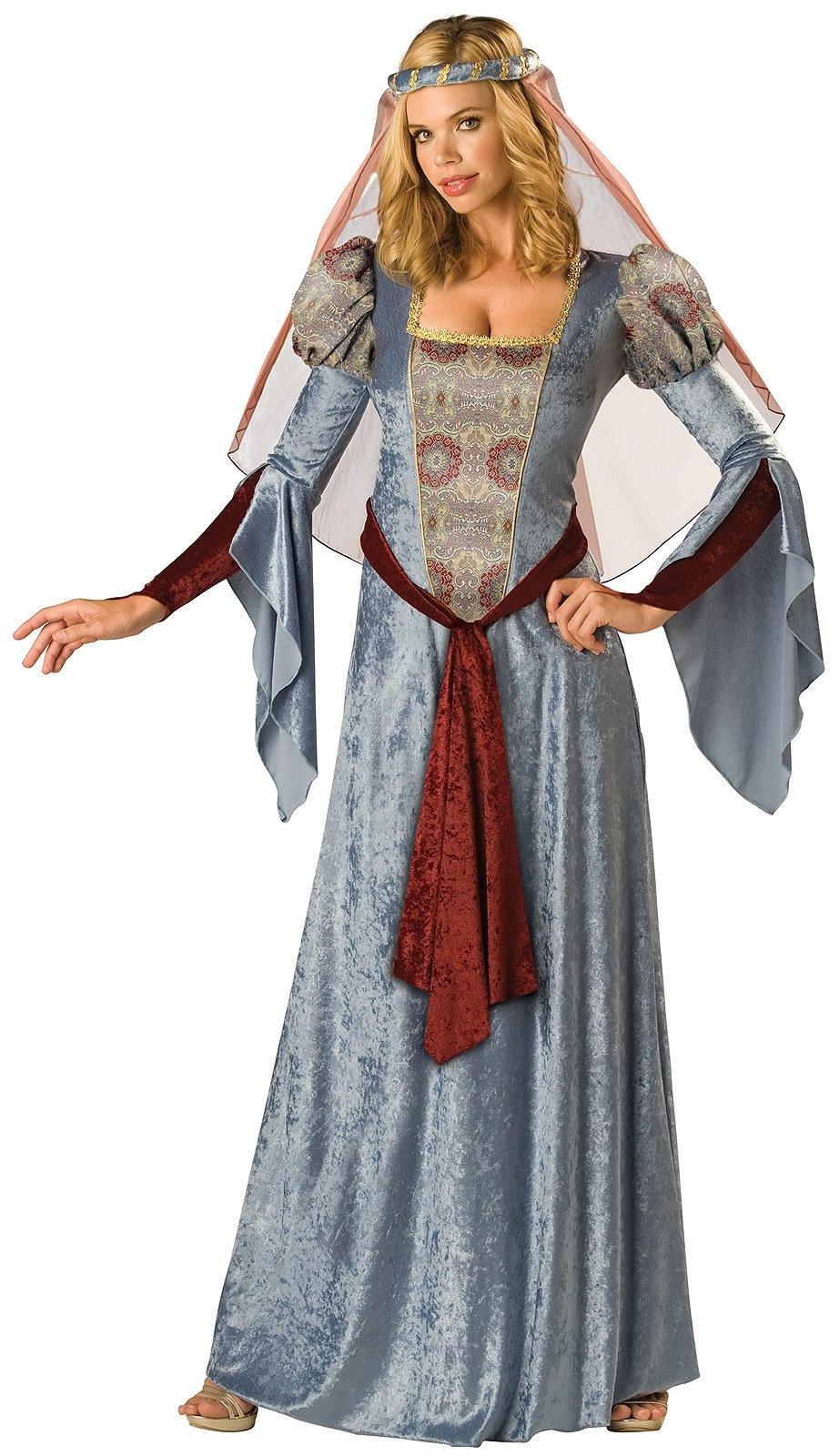 C636 Maid Marian Renaissance Medieval Robin Hood Fancy ...