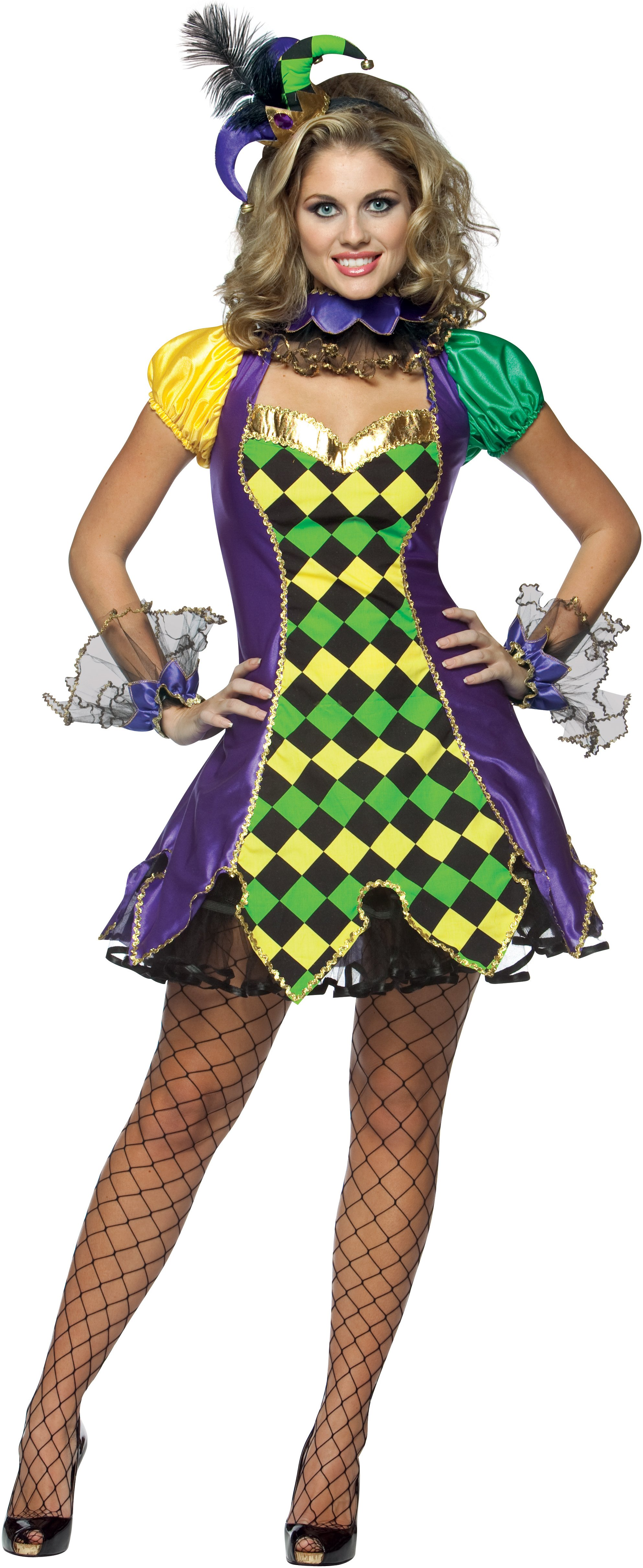 C987 Harley Quinn Gotham Jokers Girls Villain Arkham City Batman Dress Costume | eBay