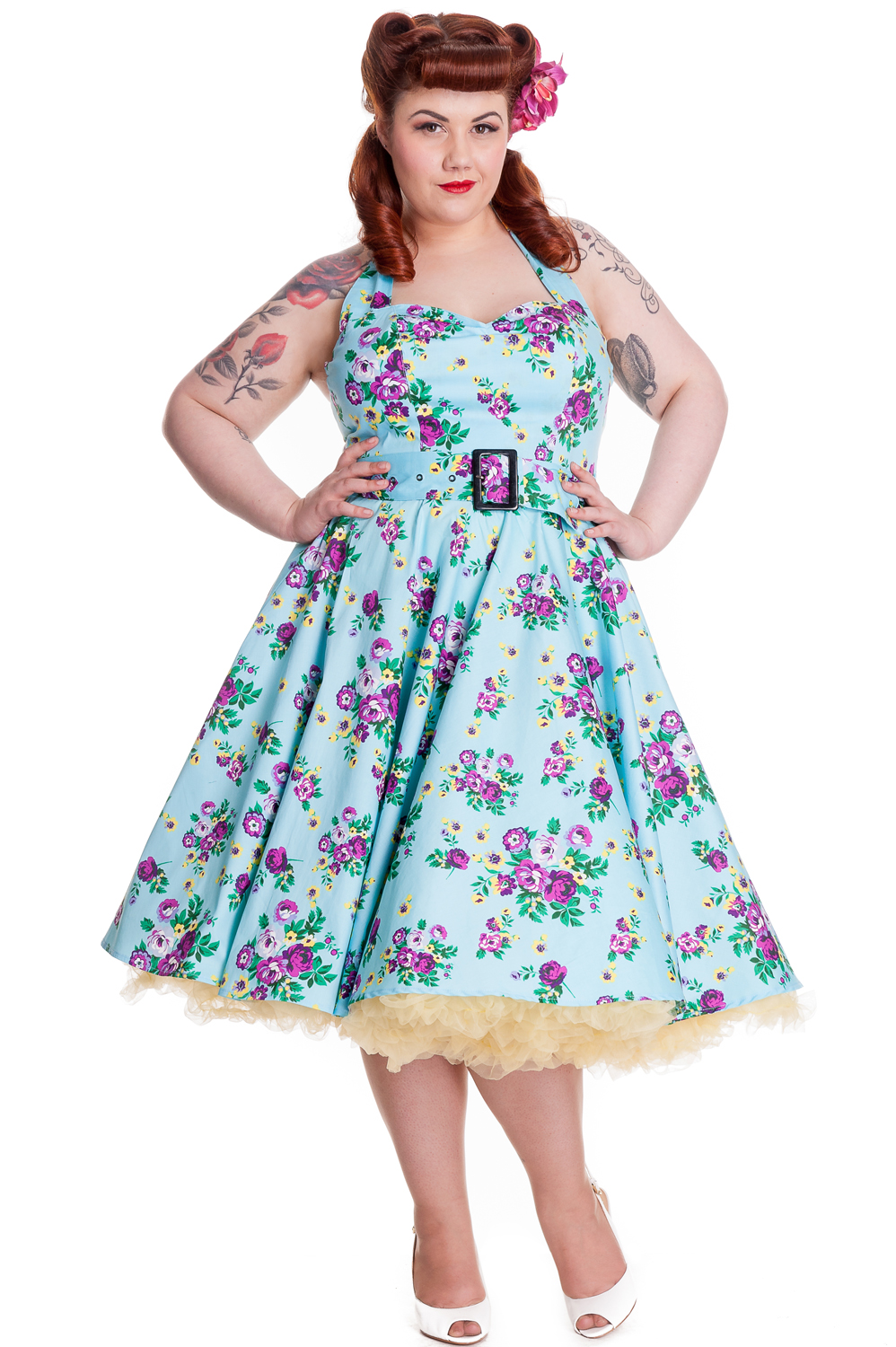 Plus Size Pinup Dresses Cheap