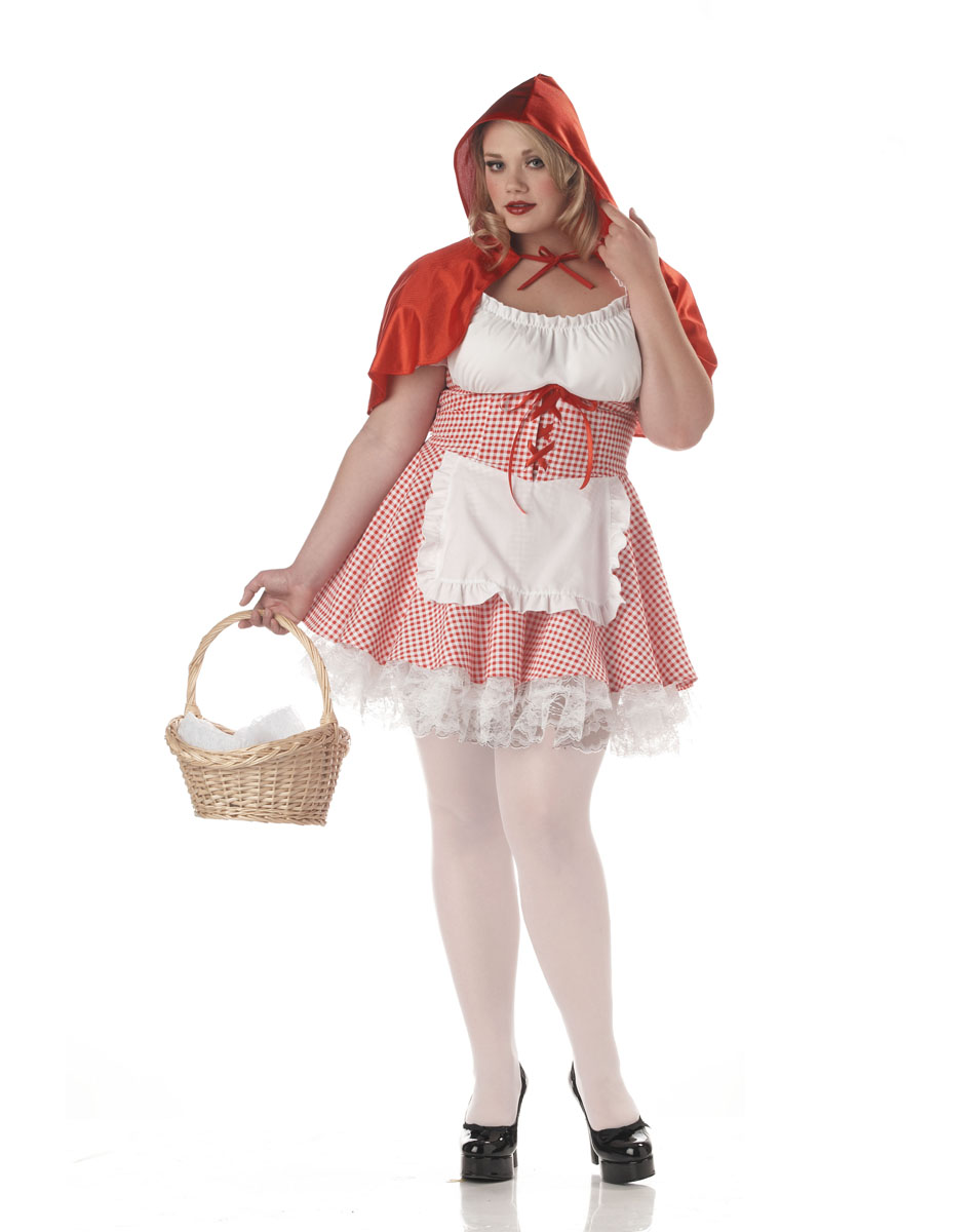 Adult Red Riding Hood Costume Description