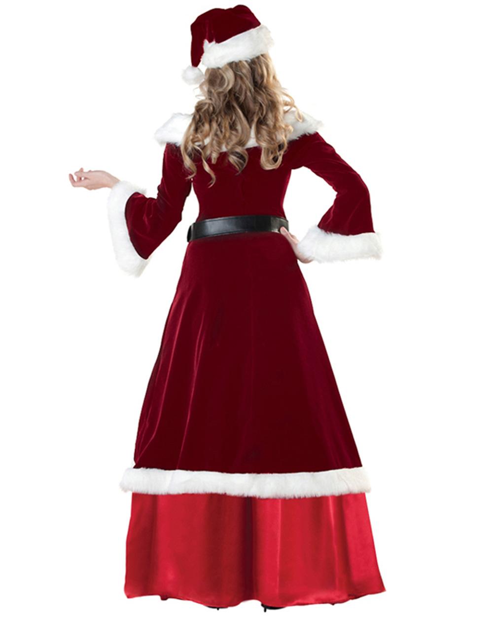 K santa mrs claus christmas fancy dress up costume xmas