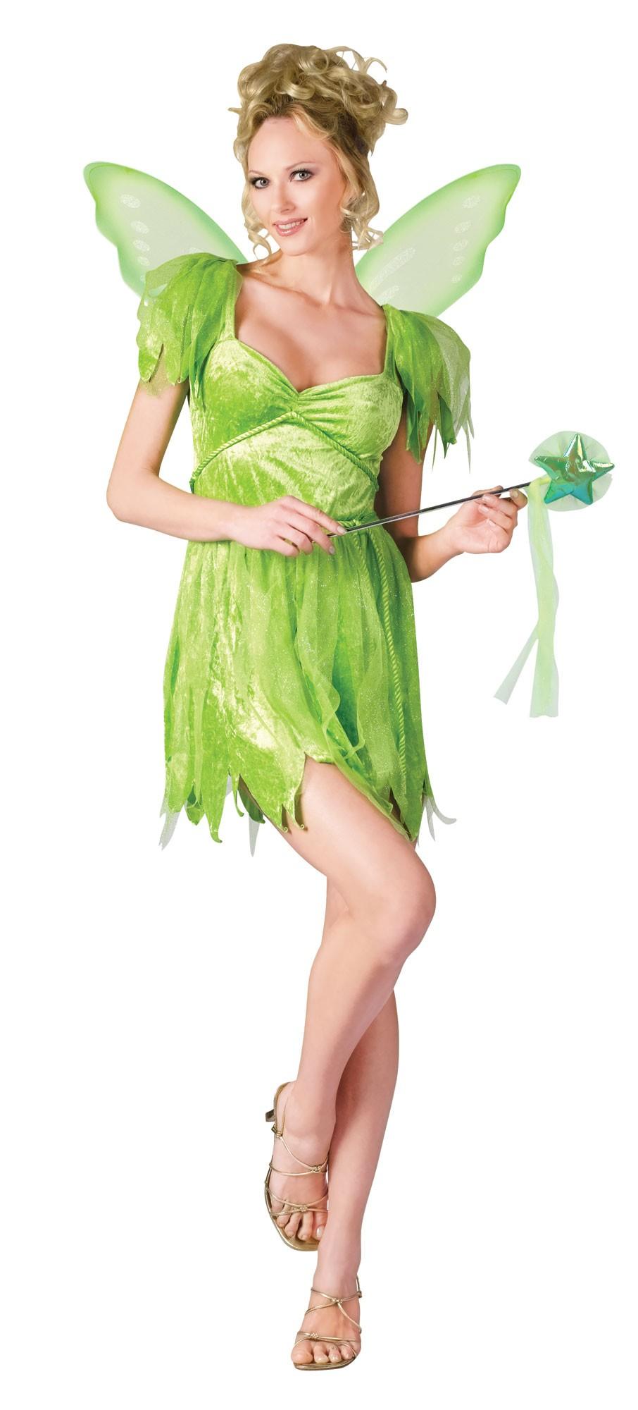 C944FW Neverland Fairy Tinkerbell Women Adult Fancy ...