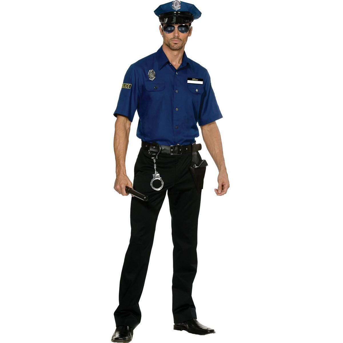 C435 Mens Cops Police ...