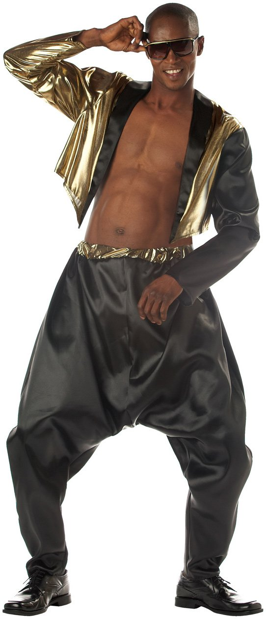 c270 mens 1980s mc hammer old school rapper fancy dress