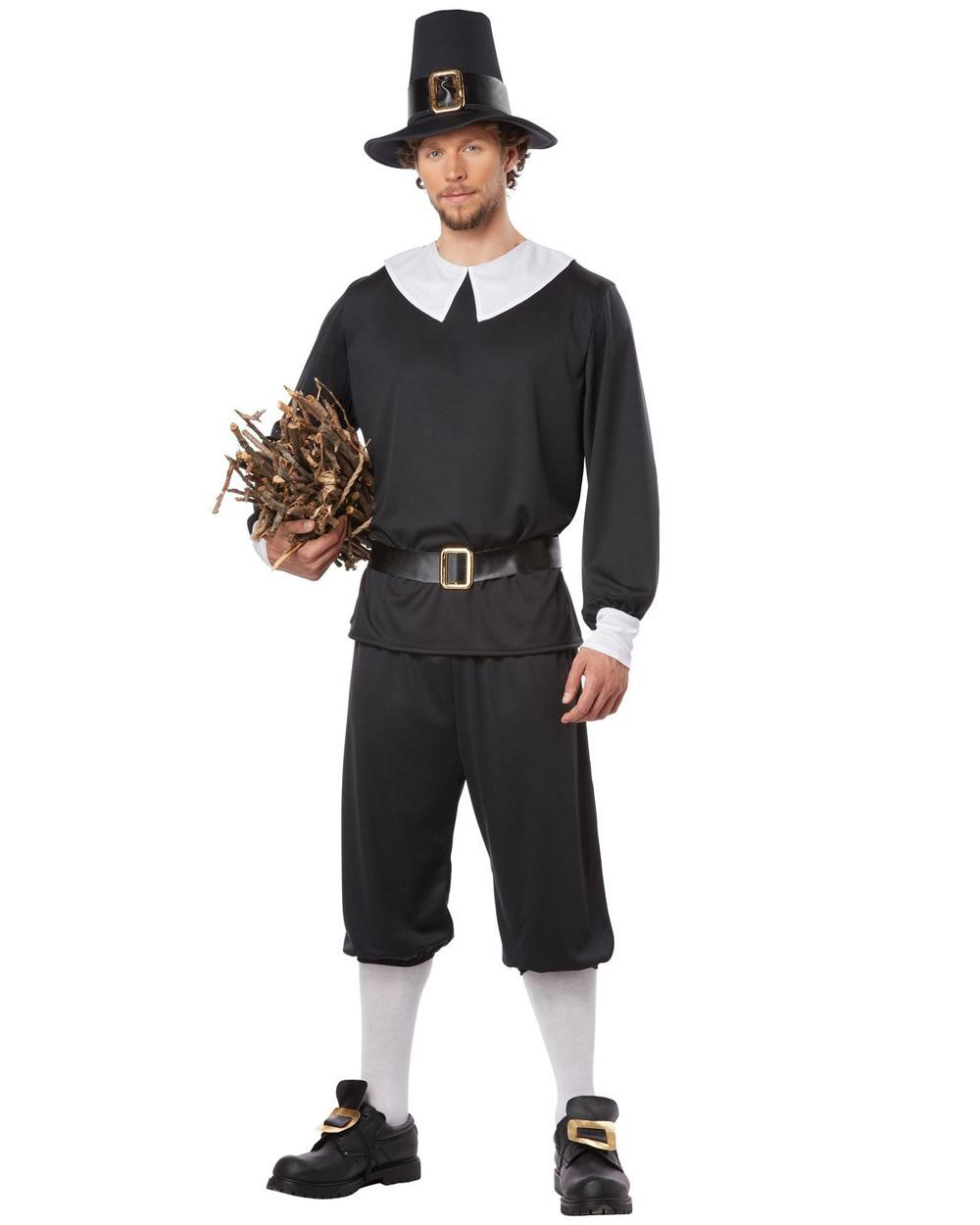 cl517 pilgrim colonial mens thanksgiving fancy dress